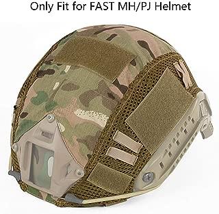 Aoutacc Tactical Multicam Helmet Cover, Military Fast Helmet Cover for Fast MH/PJ Helmet (No Helmet)