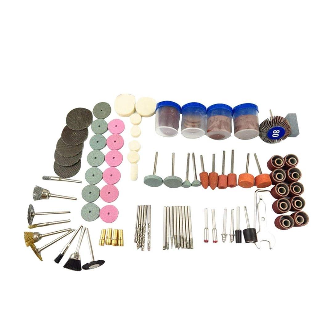 店員インデックス何故なの161Pcsロータリーパワーツールグラインダーアクセサリーサンディング研磨に適しています研削クリーニングダスティングダスティングアクセサリー(マルチカラー) (Rustle666)