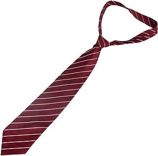 uxcell Square Pattern Pre Tie Adjustable Neckwear Necktie for Men
