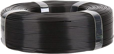 Inland 1.75mm Black PLA PRO (PLA+) 3D Printer Filament 1KG Refills (2.2lbs), Black Refill for Inland Reusable Spools only