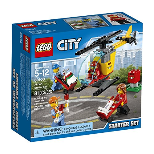 LEGO City Airport 60100 Airport Starter Set Building Kit (81 Piece) by LEGO