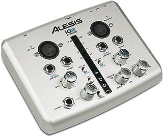 Alesis IO2 Express | 2-Channel USB Recording Interface with 48V Phantom Power (24-bit / 48 kHz)
