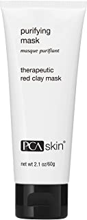 PCA SKIN Purifying Face Mask - Exfoliating Red Clay Treatment Eliminates Impurities (2.1 oz)