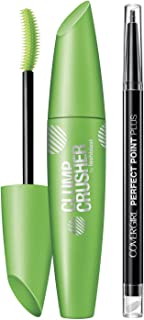 COVERGIRL Clump Crusher by LashBlast Mascara Very Black 800 and Perfect Point Plus Eye Pencil Value Pack (p...