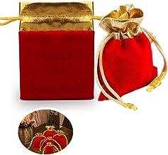 shuxuanltd jute zakken Hessische zakken kleine kleine zak snoep cadeau zakken xmas accessoire mousseline zakken decoratie ...