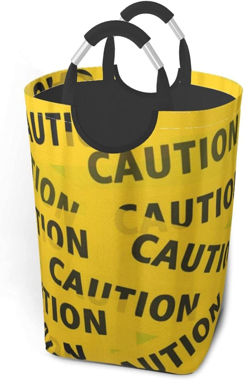 Beauty products Caution Tape Large Laundry -50l Collapsible Basket Fabric Laundr NEW