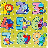 JIUZHOU Multicolore Creative éDucatif Cadeau, puzzle en bois 16 pièces pour les enfants de 1 à 5 ans, Ultra LéGèRe Argile De ModéLisation Pour les petits enfants