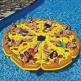 Anillo de Natacion La piscina de la rebanada de la rebanada de la pizza del flotador inflable juega los anillos de la nadada del círculo del colchón del agua para los adultos ( Color : Pizza slice )