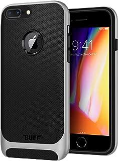 Buff BF09503 iPhone 8 Plus, New Armor Kılıf, Gümüş