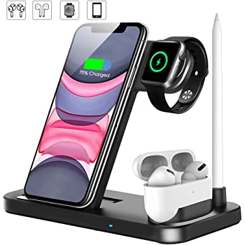 : Updated Version 4 in 1 Wireless Charger, Fast