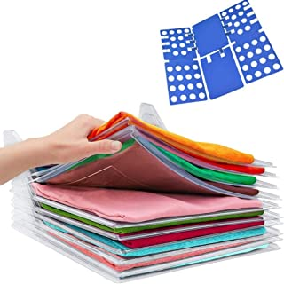 Nifogo Organisateur D'armoire - Closet Organizer T-Shirt Folder,Organiseur de Vêtements,Anti-humidité et Anti-Rides. Dossi...