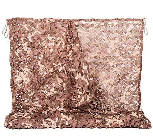 HACSYP Toldos Velas de Sombra Cenadores Netificación de Camuflaje de Woodland   Red Militar Liviana Duradera sin cuadrícula   para Acampar, decoración de telón de Fondo, Sombra (Size : 150D(2 * 6m))