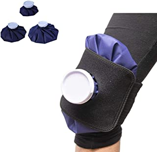 Ice Packs for Sports Injuries Reusable Cooling Neck Wrap Physical Therapy Pain Relief Muscle Pain Round Hot Cold Therapy Pack Cooling Knee Ankle Elbow Shoulder Foot Neck Back & eBook by E2F
