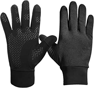 Waterfly Winter Gloves for Men Women Touchscreen Warm Soft Lining Windproof Glove for Driving Cycling Running Fitness Outdoor Sports