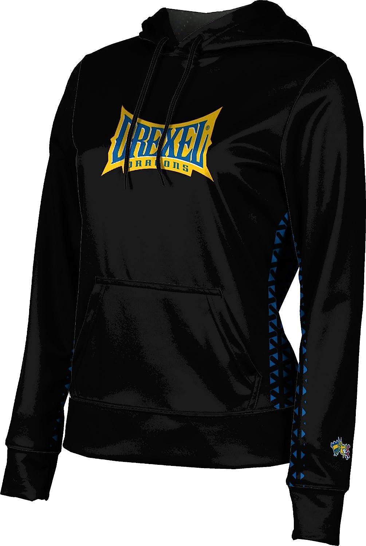 ProSphere Drexel University Girls' Pullover Hoodie, School Spirit Sweatshirt (Geo)
