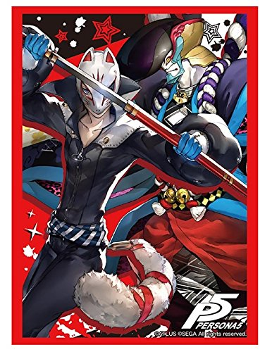Persona 5 Fox & Goemon Trading Character Card Game Sleeves Collection Vol 1204 image