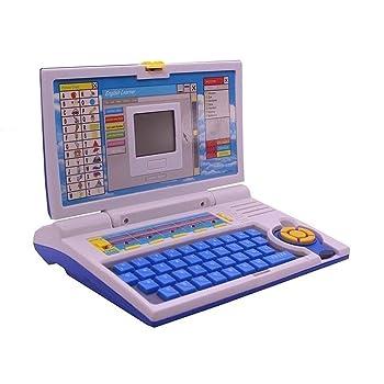 ESnipe Mart® 20 Activities & Games Fun Laptop Notebook Computer Toy for Kids