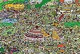 Eligjhf - Puzzle de 1500 piezas [partición] fiesta de cumpleaños, artesanía, juguete de madera, regalo decorativo, 75,5 x 50,5 cm