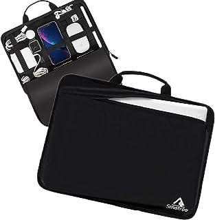 Smatree 13.3インチノートパソコン iPad Pro、iPad Air、surface Pro、surface Goなど対応 デジタル小物 PC機器 アクセサリー 固定ツール付き 整理簡単 携帯便利 AS90