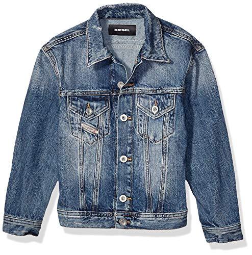 Diesel Boys' Little Jacket, Classic Denim, 6