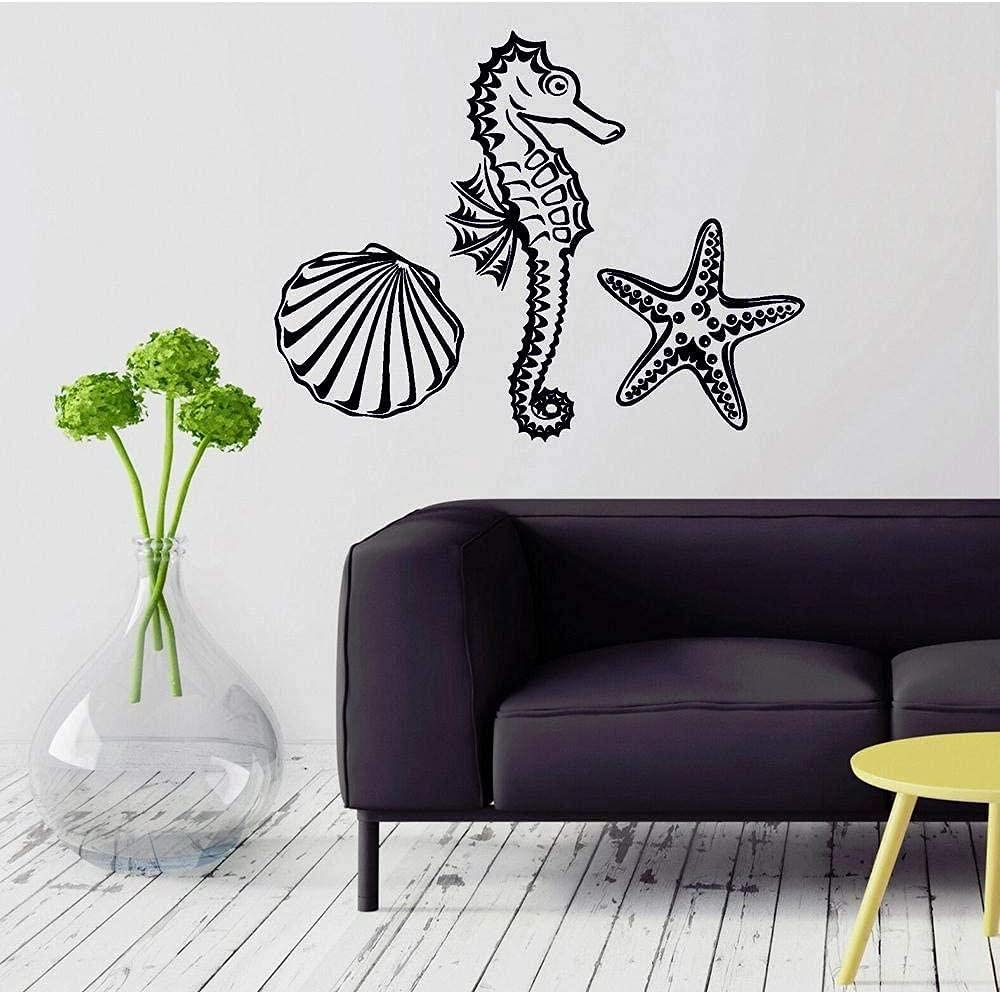CHENGY Boston Mall Detailed Wall Sticker Marine for Bathro Ranking TOP2 Decal Animal