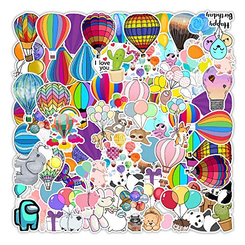 YZFCL Balloon Graffiti Stickers Car Balance Car Scooter Mobile Phone Decorative Stickers Wholesale Custom-Made 50Pcs