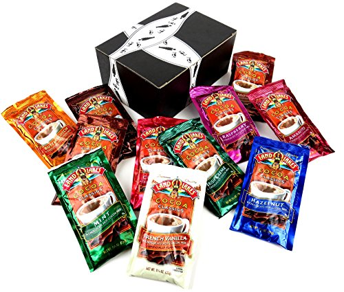 Land O Lakes Cocoa Classics Hot Cocoa Mix 11-Flavor Variety: One 1.25 oz Packet of Each Flavor Gift Pack (11 Items Total)