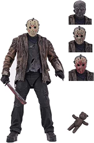 """2021 GD-Clothes Freddy vs Jason high quality Action Figures-Ultimate 7"""" Scale Freddy vs Jason Action Figures online Toys sale"""