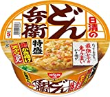 どん兵衛 特盛かき揚げ天ぷらうどん 138g ×12食