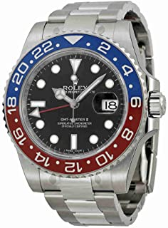 Rolex GMT-Master II White Gold Pepsi Red & Blue Ceramic Unworn 116719 Watch