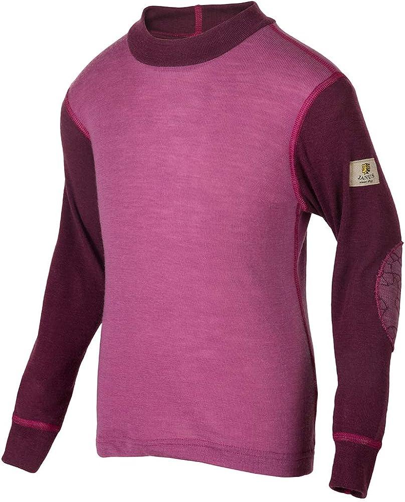 Janus Merino Wool Kids Boy's Girl's Sacramento Mall T-Shirt Animer and price revision Machine Sweater Wash