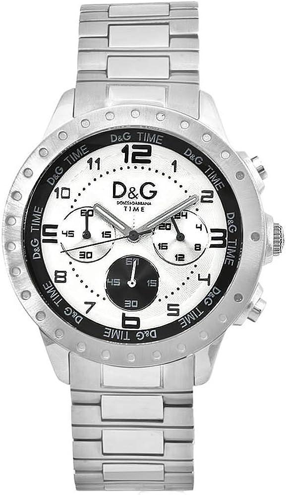 Dolce & gabbana,orologio per donna,in acciaio inossidabile DW0191