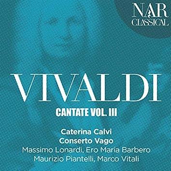 Vivaldi: Cantate, Vol. 3