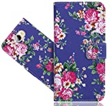 Huawei Y6 II Compact Handy Tasche, FoneExpert® Wallet Hülle Flip Cover Hüllen Etui Hülle Ledertasche Lederhülle Schutzhülle Für Huawei Y6 II Compact/Huawei Y5 II