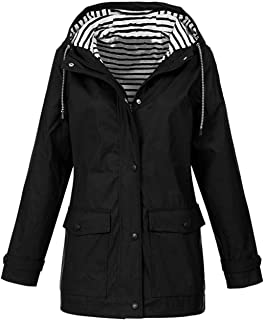 Generic Womens Winter Warm Solid Longline Packable Slim Parka Padded Coat Grey XS