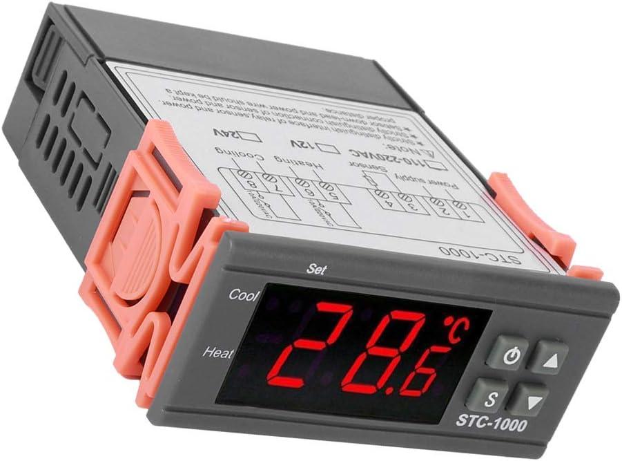 24V Elektronische Digitalanzeige Mikrocomputer Temperaturregler Schalter Aquarium Maschine