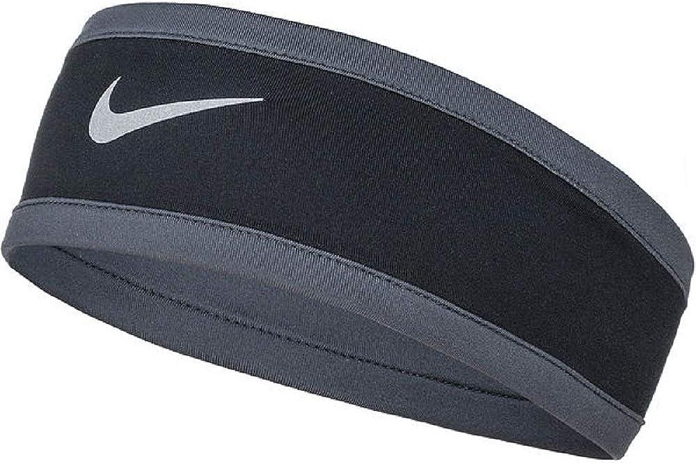 NIKE Womens Dry Headband & Glove Set Black/Anthracite/Silver