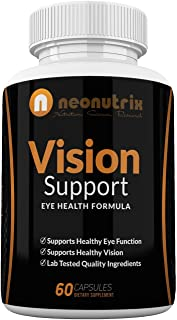 Sponsored Ad - Vision Support Eye Health Supplements with Quercetin Dihydrate 100mg - Essential Eye Vitamins, Lutein 20mg ...
