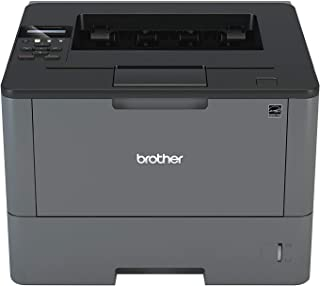 Brother Monochrome Laser Printer, HL-L5200DW, Wireless Networking, Mobile Printing, Duplex Printing, Amazon Dash Replenishment Enabled