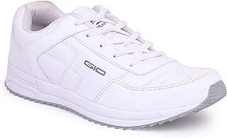 GoldStar White Color Sport Running Shoes for Men