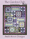 The Garden Club Applique Quilt Machine Embroidery CD by Smith Street Designs