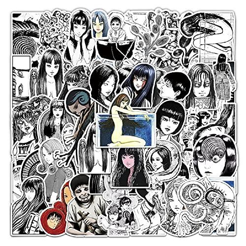 Junji Ito Stickers  50Pcs Tomie Uzu…