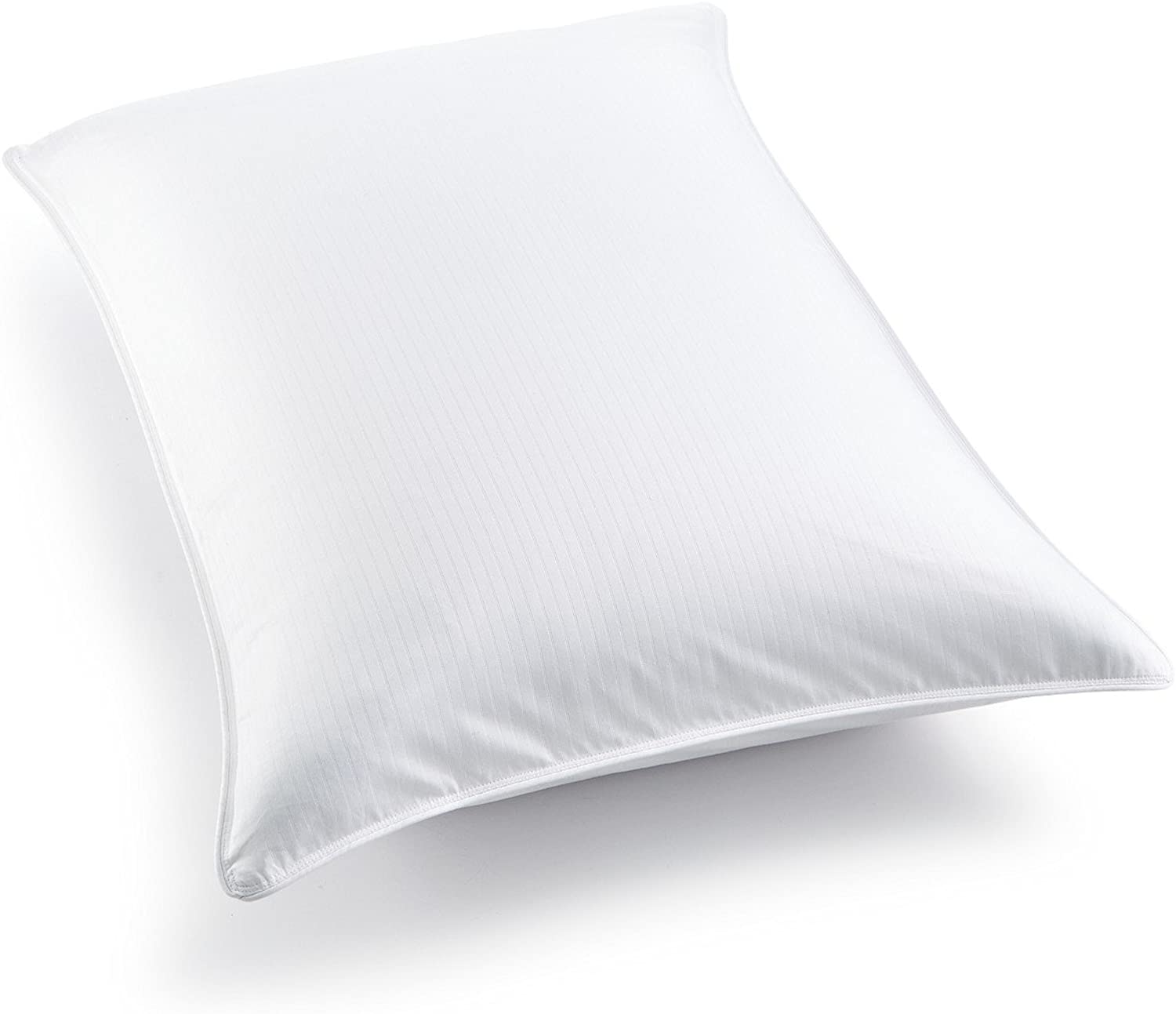 Charter Club European White Down Firm Pillow with Removable Cotton Cover - Hypoallergenic Ultraclean down
