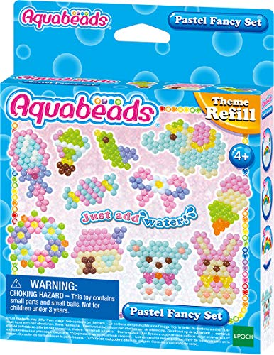 Aquabeads 31361 Pastell Fantasie Set - Bastelset Themen Nachfüllset
