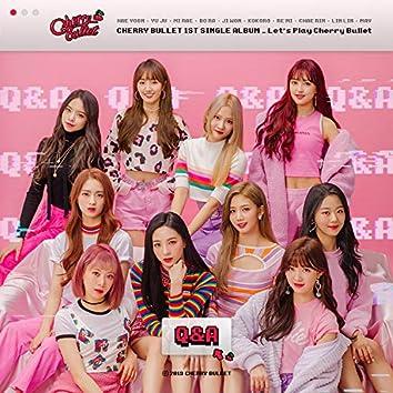 Cherry Bullet 1st Single Album Let's Play Cherry Bullet