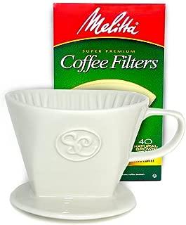 single cup drip coffee cone ceramic