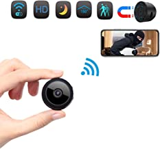 Spy Camera, Wireless Hidden WiFi Camera HD 1080P Mini Camera Portable Home Security Cameras Covert Nanny Cam Small Indoor Video Recorder Motion Activated/Night Vision Remote Monitor Phone App.