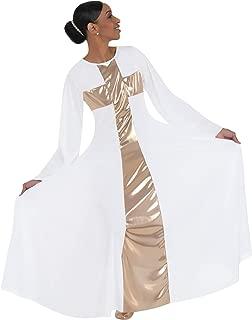Body Wrappers Women's Praise Cross Long Worship Dress - 620