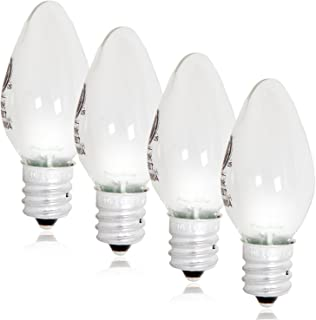 Maxxima LED C7 Candelabra Night Light Replacement Bulb 12 Lumens, 2 LED - (Pack