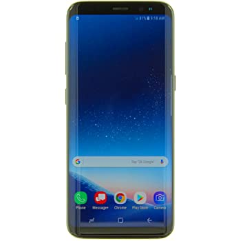 "Samsung Galaxy S8 (64GB) G950U 5.8"" 4G LTE Unlocked (GSM + CDMA, US WARRANTY) (Midnight Black)"